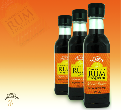 Chocolate Rum Liqueur Base