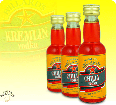 Gold Star Chilli Vodka