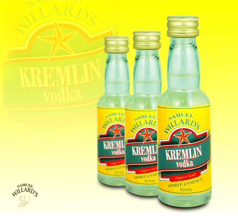 Gold Star Kremlin Vodka