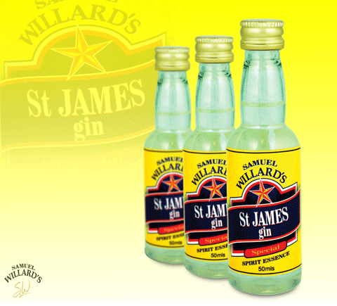 Gold Star St James Gin