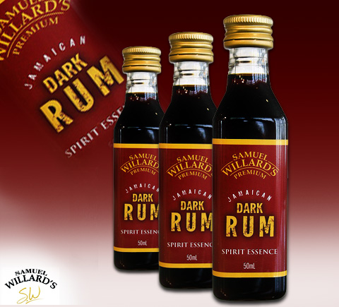 Premium Jamaican Dark Rum - Samuel Willards
